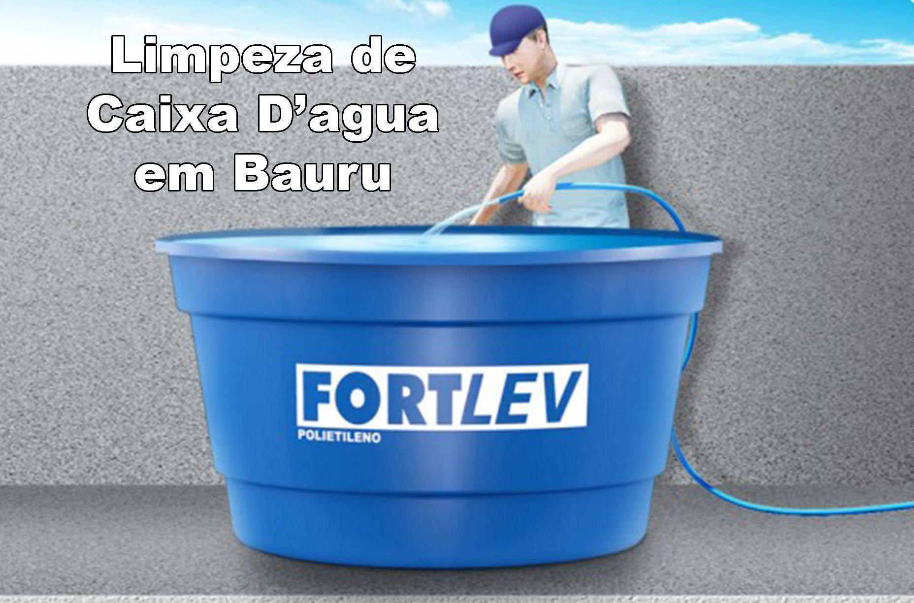 Limpeza de Caixa D'água em Bauru